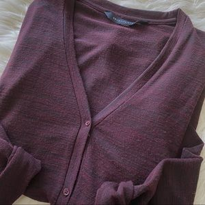 Seven Sisters Marled Knit Open Side Cardigan